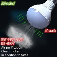 new technology anion air purification light bulb 110v 220v 85 265v
