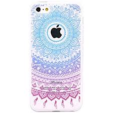 Amazon iPhone 5c Case JAHOLAN Beautiful Clear TPU Soft Case
