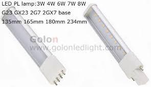 led pl l g23 gx23 2g7 2gx7 option 3w 4w 6w 7w 100 277vac ce