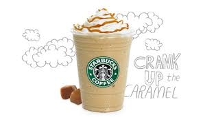 Starbucks Caramel Frappuccino Drawing
