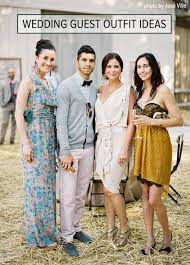 Country Wedding Guest Attire What To Wear A Rustic Bridal Casual Outfits