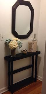 Narrow Sofa Table Behind Couch by Best 25 Narrow Table Ideas On Pinterest Very Narrow Console