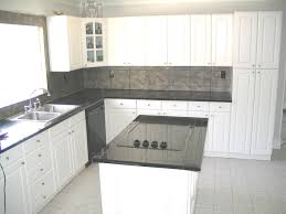 Kent Moore Cabinets Bryan Texas by Modern Design With Travertine Backsplash And Tile Granite Counter