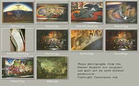 Denver International Airport Murals Pictures by The Denver Airport Material Image Catalog