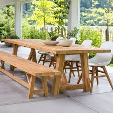 Outdoor Tables On Sale Now An Table From Our Teak Furniture Collection Like The Renais 35 X 7 Beam Makes It Easy To Entertain In