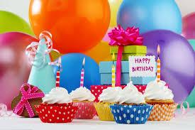 happy birthday cupcake birthday balls candles cupcakes ts