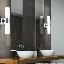 led up chrome wall l for your bathroom artus