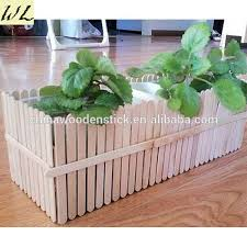 Made In China Wood Ice Cream Stick House Craft