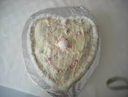 kokos joghurt kuchen mit weißer schokolade