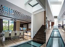 100 Glass Floors In Houses House With Creative Ceilings And