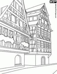 Best Buildings And Other Constructions Coloring Pages