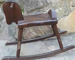 Vintage Banana Rocking Chair by Rocking U0026 Spring Toys Etsy