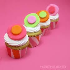 FREE Printable For Mini Cupcake Wrapper Template The Decorated Cookie