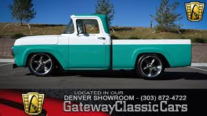 1958 Ford F100 | Gateway Classic Cars | 175-DEN 1958 Gmc Pmarily Petroliana Shop Talk Napco 4x4 Pickup Trucks The Forgotten Owners Gmcs Ctennial Happy 100th To Photo Image Gallery 2017 Sierra 1500 Reviews And Rating Motor Trend Questions 1994 4l60e Transmission Shifting Crew Cab 2001 2007 3d Model Vintage Chevy Truck Searcy Ar 1959 550series Dump Bullfrog Part 1 Youtube Chevrolet Apache Classics For Sale On Autotrader Ez Chassis Swaps