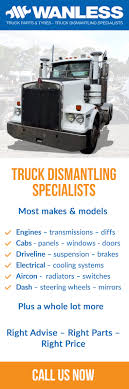 100 Truck Parts Specialists Wanless 48 Lensworth St Coopers Plains