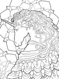 Unicorn And Fairy Coloring Pages Book For Adults In Addition To Page