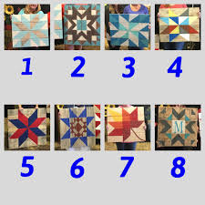 Wooden Barn Quilts EVENING Tickets, Fri, Feb 17, 2017 At 6:00 PM ... Rolling Star Barn Quilt With Monogram And Frame Morning The Red Feedsack Wooden Quilt Square And A Winner Tweetle Dee Design Co Starburst Barn Ladies Book Collection Fall Back A Quilts The American Trail Yes Georgia We Do Have Foundation Paper Pieced Block Pattern Meanings Gallery Handycraft Decoration Ideas Rainboots Handmade By Dave My First 4x4 Round Wicked Designs Llc Crayon Box Studio Classic Metal Company Review
