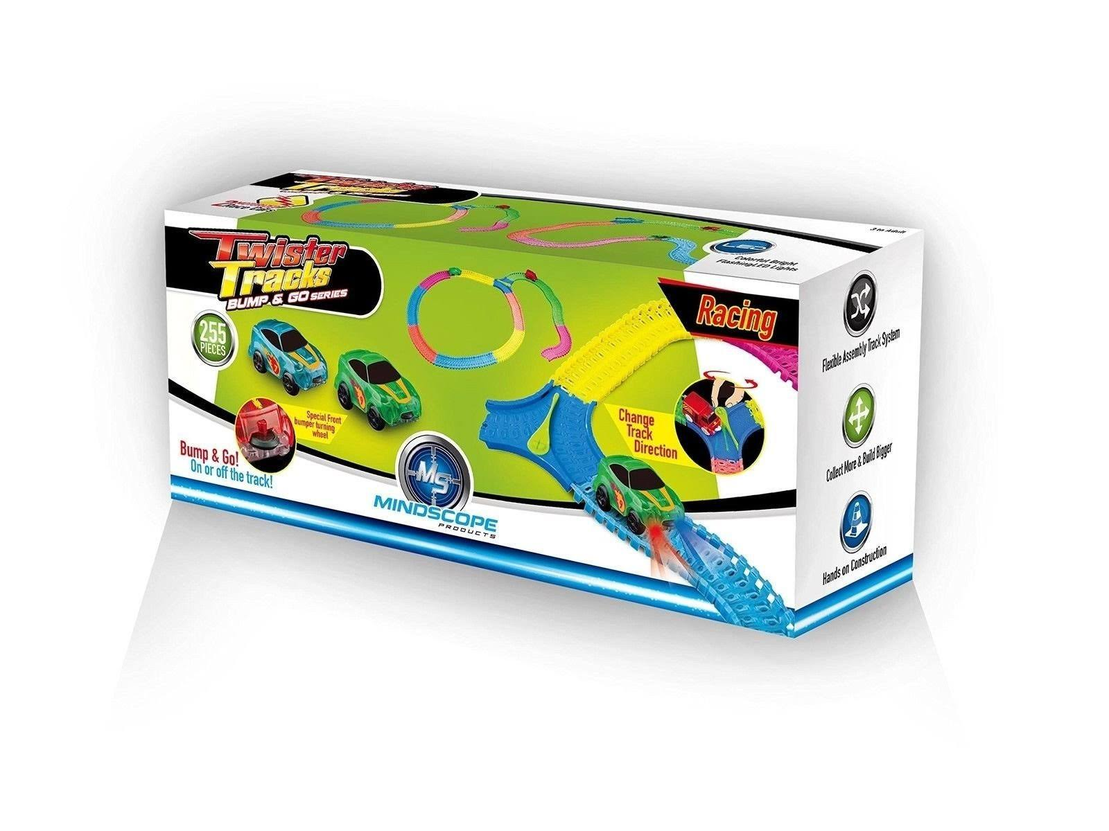 Mindscope Twister Tracks Bump and Go Race Set