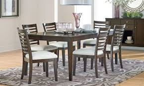 Noveau Transitional Dining Set