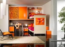interior casters oak loft bed design with shelving