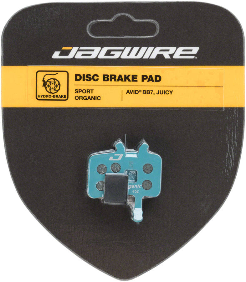 Jagwire Sport Organic Disc Brake Pads - for Avid BB7 and Juicy