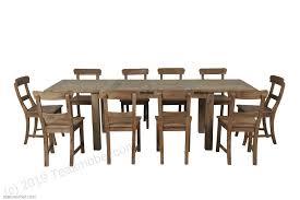 teakholz tisch ausziehbar 160 210 260x90