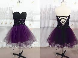 beautiful tulle short handmade prom dress with lace up homecoming