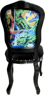 casa padrino barock luxus esszimmer stuhl comic schwarz designer stuhl design möbel