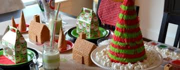 13 December 2012 Holiday Gingerbread House Cookie Decorating Party For The Kids A Giveaway