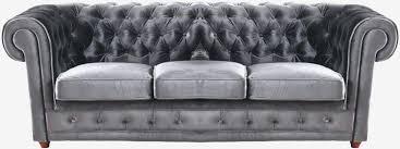canapé chesterfield cuir gris chesterfield gris cuir beau canape chesterfield cuir gris canape