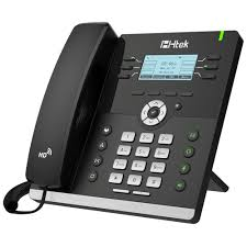Htek UC903 3-Line IP Phone, Enterprise SIP VoIP Desk Phone