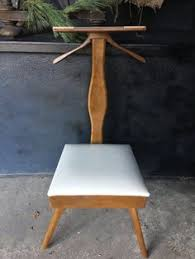 Mens Valet Dressing Chair by Mid Century Butler Chair Valet Chair Mid Century Furniture Suit