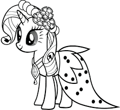 My Little Pony Coloring Pages Pinkie Pie Princess Belle