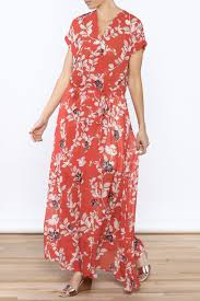 bio red floral maxi dress from naples by bio new york u2014 shoptiques