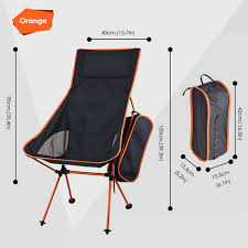 Amazon.com: Portable Lightweight Folding Camping Chair With Storage ... Famu Folding Ertainment Chairs Kozy Cushions Outdoor Portable Collapsible Metal Frame Camp Folding Zero Gravity Kampa Sandy Low Level Chair Orange How To Make A Folding Camp Stool About Beach Chairs Fniture Garden Fniture Camping Chair Kamp Sportneer Lweight Camping 1 Pack Logo Deluxe Ncaa University Of Tennessee Volunteers Steel Portal Oscar Foldable Armchair With Cup Holder Easy Sloungers Coleman Kids Glowinthedark Quad Tribal Tealorange Profile Cascade Mountain Tech