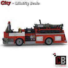 100 Custom Lego Fire Truck CUSTOMBRICKSde LEGO Moc City Model US