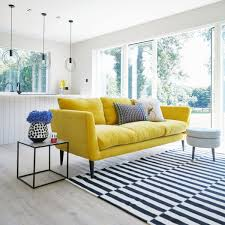 That Yellow Velvet Sofa Indoor Living Yellow Sofa