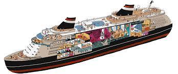 Carnival Fantasy Riviera Deck Plan by Cruise Control