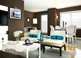 Great Colors For Living Rooms by Modern Living Room The Brown Wall Color Is Stunning Against The