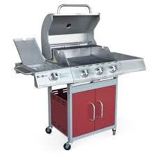 cuisine barbecue gaz s garden barbecue au gaz richelieu 4 brûleurs