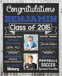 Personalized Graduation Poster Custom Ideas