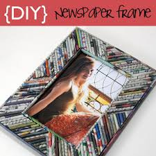How To Make A Picture Frame Using Recycled Paper