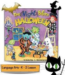 Twas The Night Before Halloween Book by Before Halloween Clipart