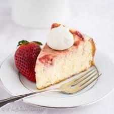 White Chocolate Strawberry Cheesecake abajillianrecipes 13