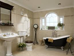 Beige Bathroom Design Ideas by Freestanding Roll Top Bath Photos Design Ideas Remodel And