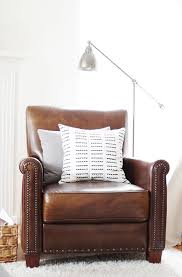 Pottery Barn Irving Chair Recliner by 10 Ways I Saved Money On My Living Room Bay On A Budget