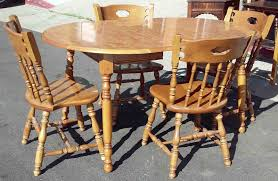 UHURU FURNITURE & COLLECTIBLES: SOLD Early American Table Set With 4 ... Windsor Ding Chair Fly By Night Northampton Ma Antique Early American Carved Wood With Sabre Legs Desk Side Accent Vanity 76 Astonishing Gallery Of Maple Chairs Best Solid Mahogany Shield Back Set Handmade Shaker Farm Table 72 By David S Edgerly Customer Fniture Edna Winchester Countryside Amish 19c Cherry Extendable Rockwell How To Choose For Your Custom Ochre Forcloth Forcloths Custmadecom Country Farmhouse Room Amazoncom Hardwood Xback Of 2