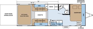 R Pod Camper Floor Plans by Xlr Hyperlite Travel Trailer Toy Haulers Floorplans By Forest