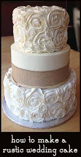 Easy Wedding Cakes How To Make A Rustic Cake And Beautiful Little
