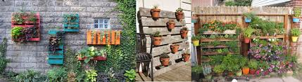 Image Of Pallet Garden Wall